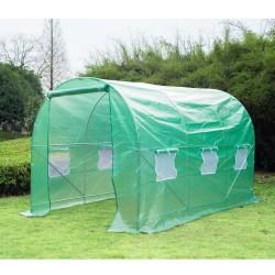 Invernadero Caseta Nuevo Verde Acero Plastico 350 x...