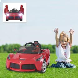 Coche Ferrari Rojo 121,9x60,4x51cm...