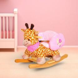 Balancin Bebe Girafa Tela 60x33x40cm...