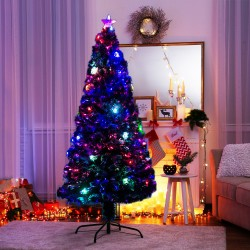 Arbol de Navidad Verde PVC Φ82x180cm...