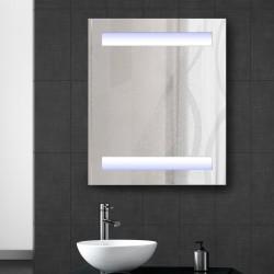 Espejo de Baño Vidrio Blanco 80x60x15cm...