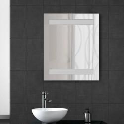 Espejo de Baño Vidrio Roble 60x50x15cm...