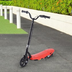 E-Scooter Hierro Rojo 81x15x95cm...