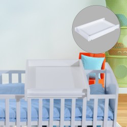 Cambiador para Bebés Madera Blanco 87x50x10cm...