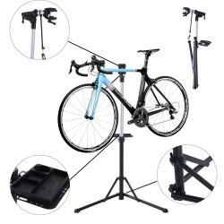 Caballete para Bicicleta Acero Negro 87,5x73x100-15...