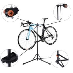 Caballete para Bicicleta Acero Negro 85x59x100-159c...