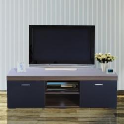 Mueble para Televisor Madera Café 140x40x44cm...