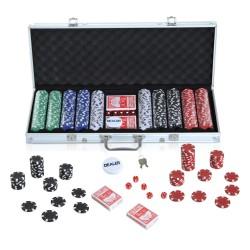 Maletín de Poker Alumnio Colorido 56x22x7cm...