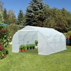 Invernadero Plástico Blanco 450x300x200cm...