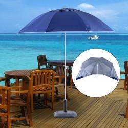 Sombrilla para Playa y Jardín con Paneles Laterales...