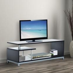Mueble para Televisor Madera Negro 114x40x40,5cm...