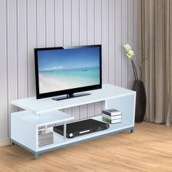 Mueble para Televisor Madera Blanco 114x40x40,5cm...