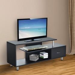 Mueble para Televisor Madera Negro 152x40x60,5cm...