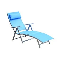 Tumbona Renclinable para Jardín Ajustable a 5 nivel...