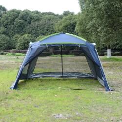 Carpa tipo Avancé Plegable para Camping - Azul Oscu...
