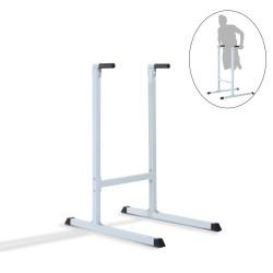 Aparato de Musculación Blanco Acero 99x66x123.5cm...