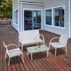 Conjunto de Muebles de Jardín Patio y Terraza con 4...