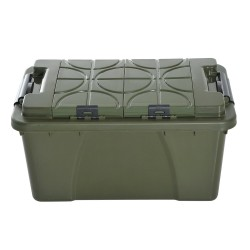 Caja de Almacenamiento Portátil– Color verde –Plásti...