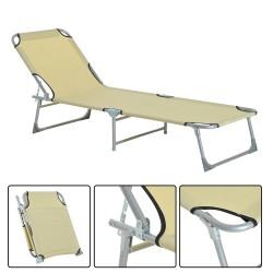 Tumbona Plegable y Reclinable para Playa o Piscina –...
