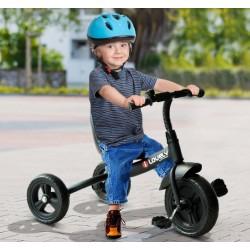 Triciclo para Niños de Más de 18 Meses – Color Negro...