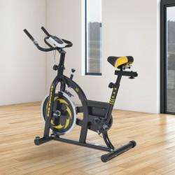 Bicicleta Estática de Spinning Fitness - Color Negr...