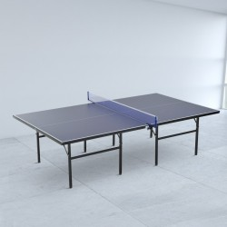 Mesa de Ping Pong Plegable con Red - Color Azul – A...