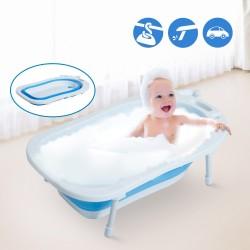 Bañera para Bebé y Niño para Baño Infantil - Plegab...