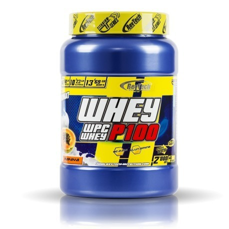 PROTEINA WHEY WPC P100 REVTECH 2 KG
