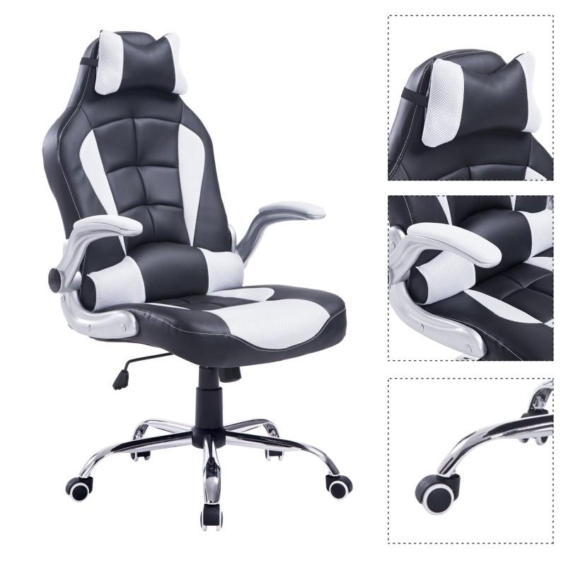 Silla de oficina tipo sill n giratorio de escritori for Tipos de sillas de oficina