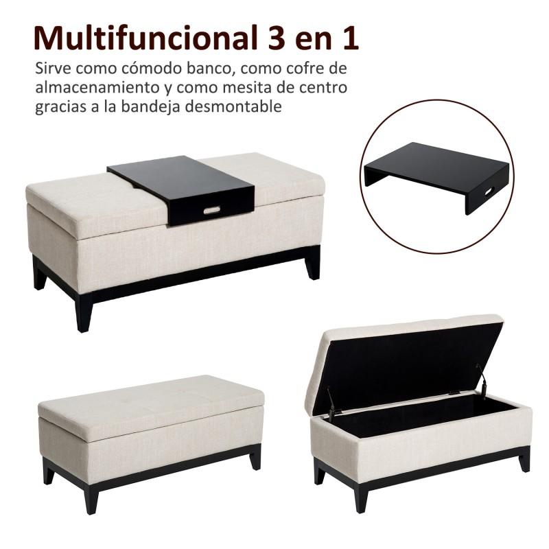 Atractivo Banco De Almacenamiento Con Muebles Cestas Motivo ...