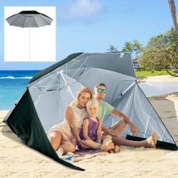 Sombrilla de Playa con Paneles Laterales tipo Tiend...