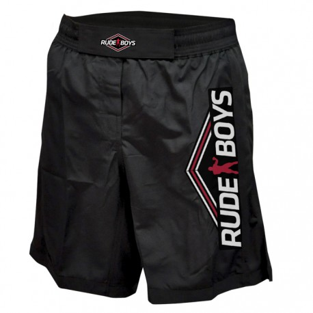 FIGHT SHORT MMA RB BLACK