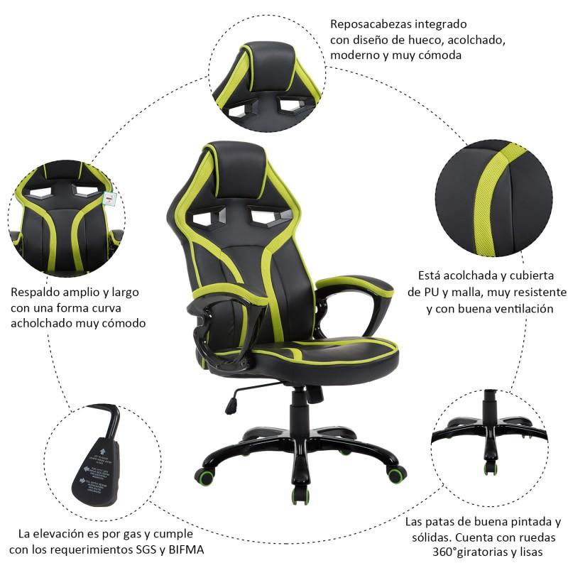Silla Oficina Reclinable Of Silla De Oficina Ejecutiva Reclinable Y Deportiva D