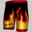 FIGHT SHORT VALE TUDO MMA RB FLAMES