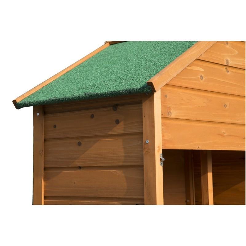 Caseta de jard n exterior tipo cobertizo de madera - Cobertizo de jardin ...