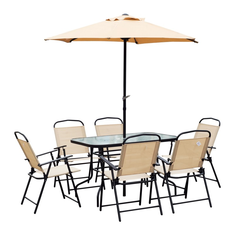 Conjunto de muebles para jard n terraza o patio de for Conjunto muebles terraza jardin