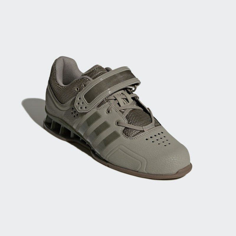 100% authentic 0a6a4 58ee0 ZAPATILLA ADIDAS ADIPOWER WEIGHTLIFTING GRIS OLIVA