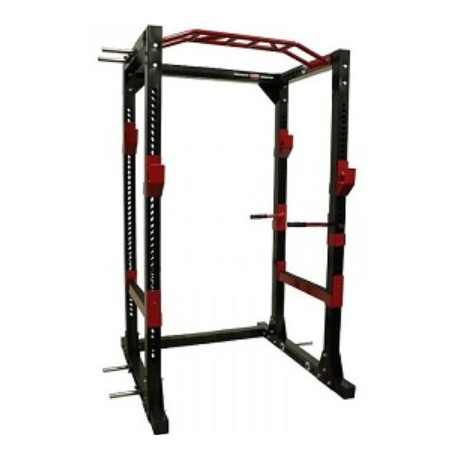 jaula rack de potencia sentadillas