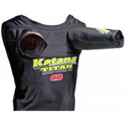 CAMISA PRESS DE BANCA TITAN SUPER KATANA (MANGAS RECTAS)