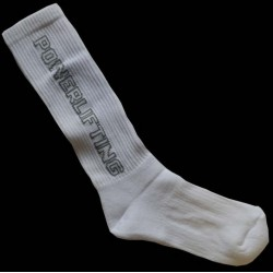 CALCETINES POWERLIFTING (BLANCO O NEGRO)