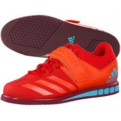 ZAPATILLAS ADIDAS POWERLIFT 3 - ROJO - HALTEROFILIA / POWERLIFTING