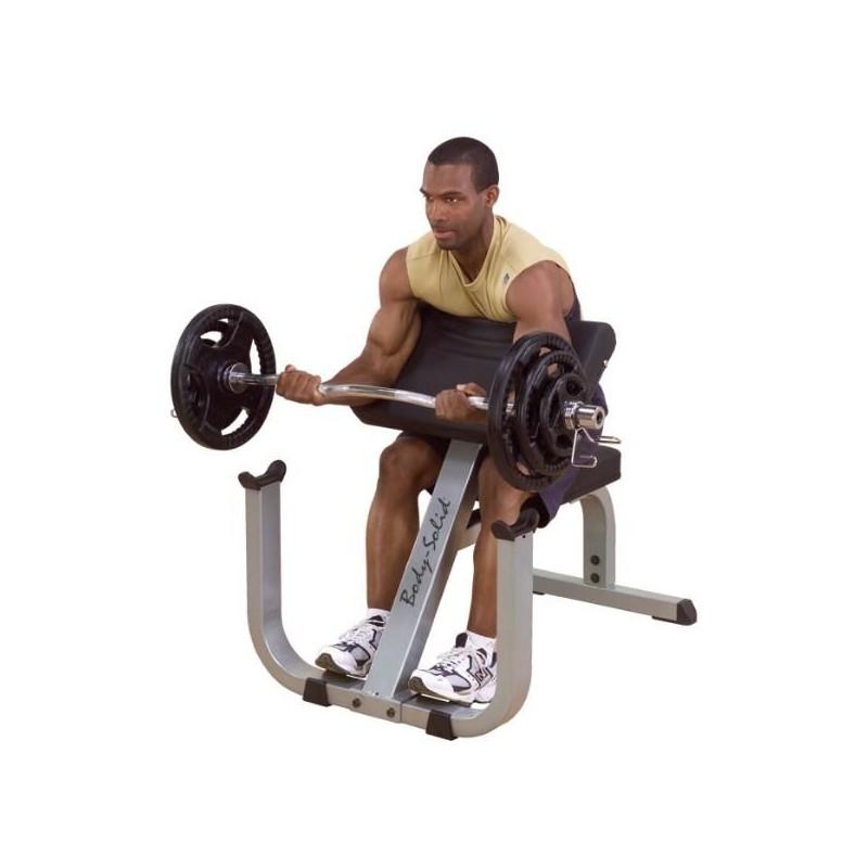 banco scott de biceps