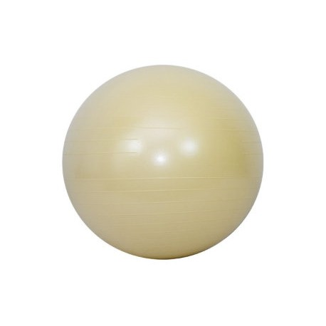 GYM BALL - FITBALL 75 CM COLOR VAINILLA