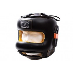 CASCO BOXEO BARRA FRONTAL PRO METAL BOXE