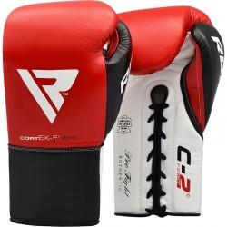 Guantes de boxeo de combate RDX C2 aprobados por BBBofC