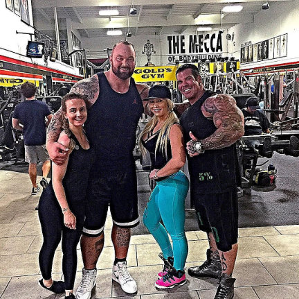Rich piana y the mountain