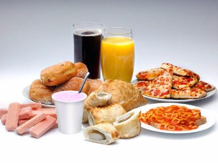 comida procesada