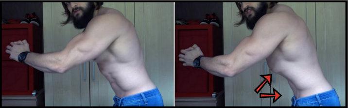 ejercicio vacío abdominal - hipopresivos
