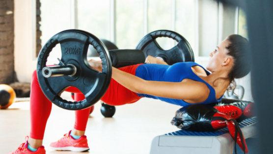 hip thrust para entrenar el glúteo