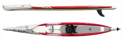 tabla paddle surf kayak arrow eco 17